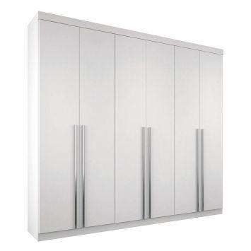 Guarda-Roupa Casal Soft Imaginare 6PT Branco