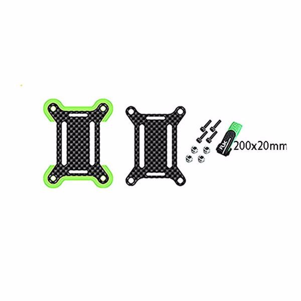 RC FPV Racing Drone Backpack Plug-in Accessories BundlE Mount with 200X20MM Or 300X20MM Strap