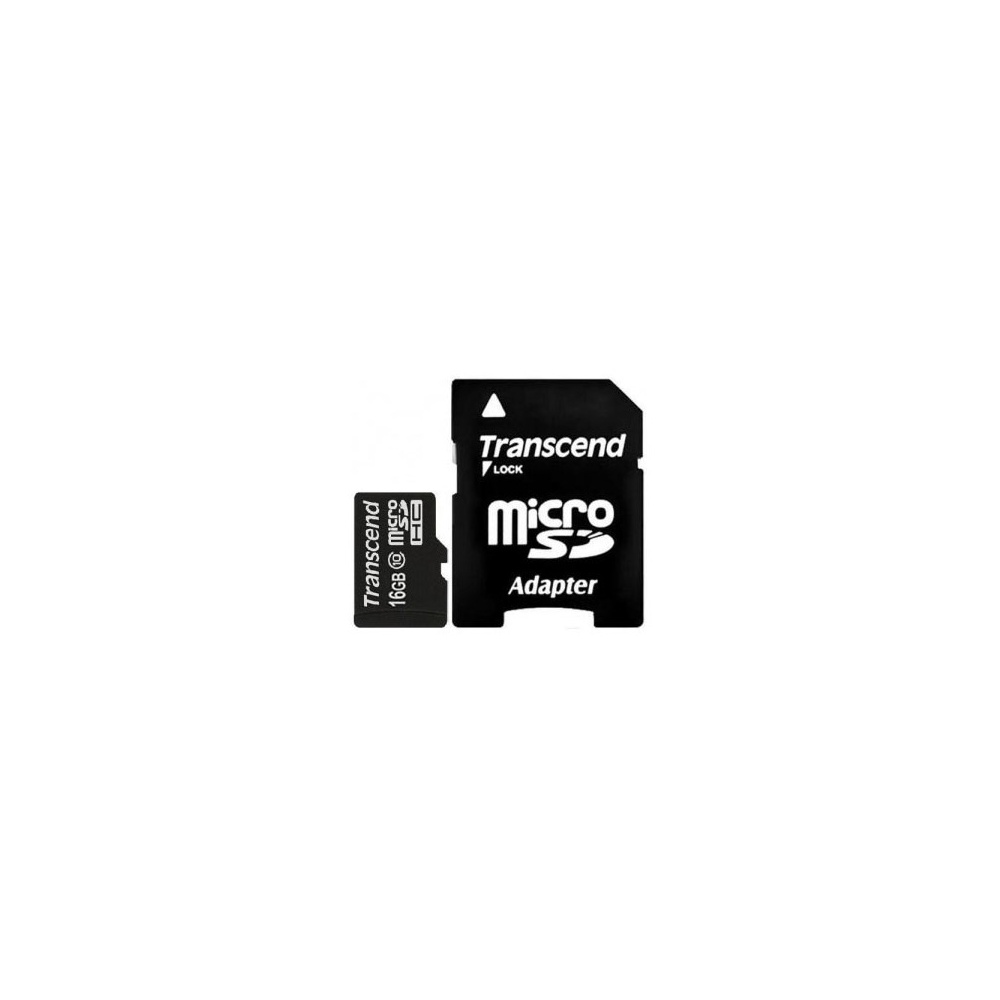 Карта памяти Transcend micro SDHC 16GB [10 class] U1 Premium