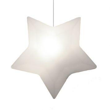 Luminária - Pendente Estrela Branca