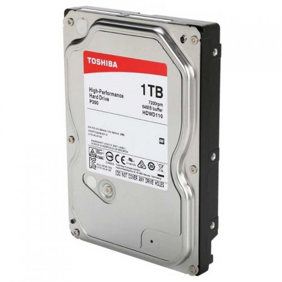 Жесткий диск Toshiba P300 1Tb (HDWD110UZSVA)