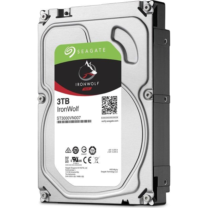 Жесткий диск Seagate IronWolf 3Tb (ST3000VN007)