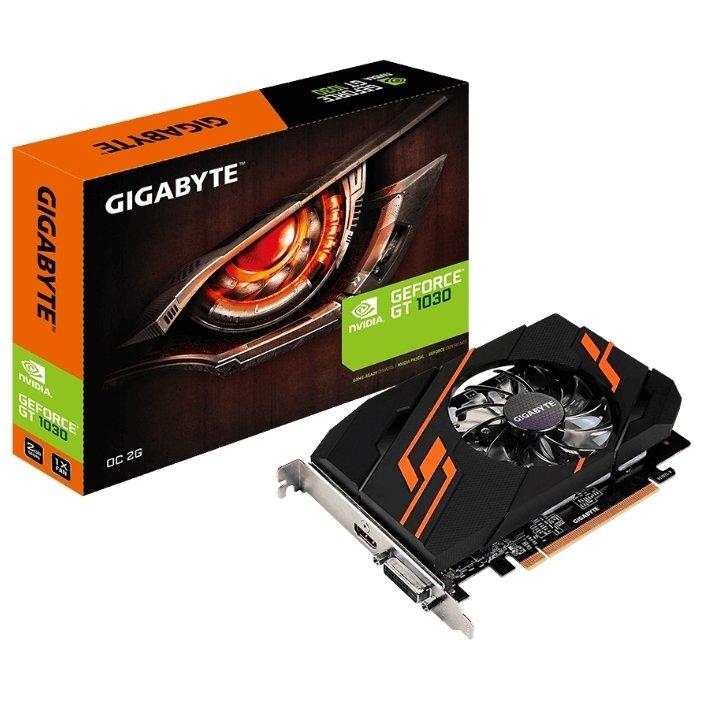 Видеокарта Gigabyte GT 1030 2Gb GV-N1030OC-2GI