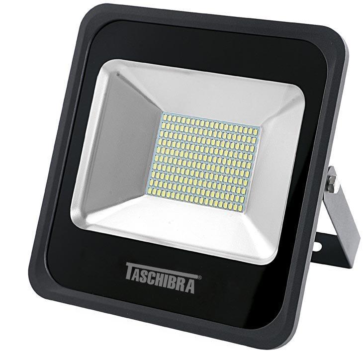 Refletor LED Taschibra TR150, Preto, 150 Watts, 6500K