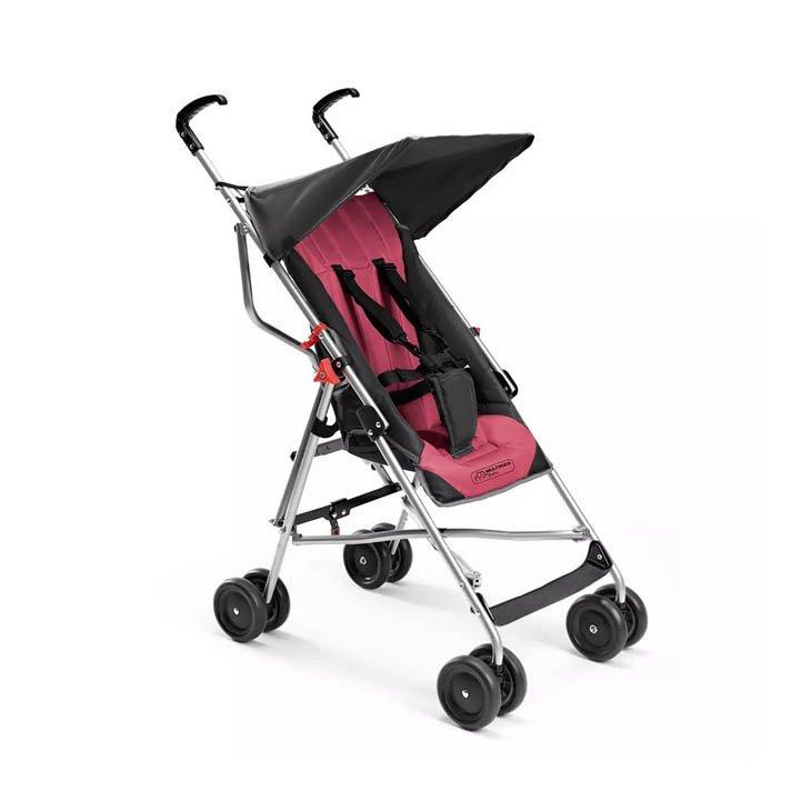 Carrinho de Bebê Multikids Baby Pocket BB501, Rosa