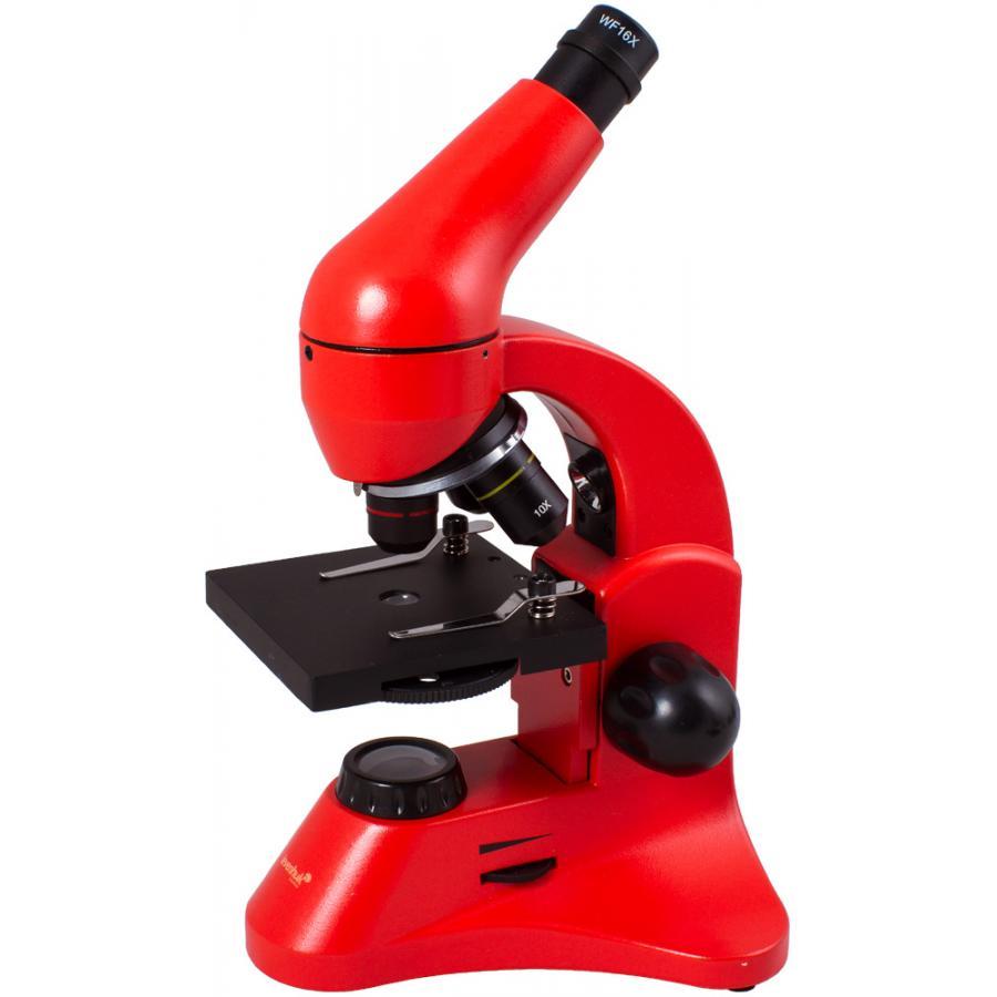 Микроскоп Levenhuk Rainbow 50L PLUS OrangeАпельсин (2016)