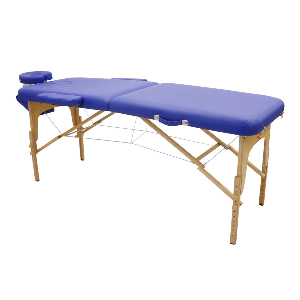 Maca De Massagem Portátil Com Altura Regulável E Bolsa Para Transporte Top - Goldlife