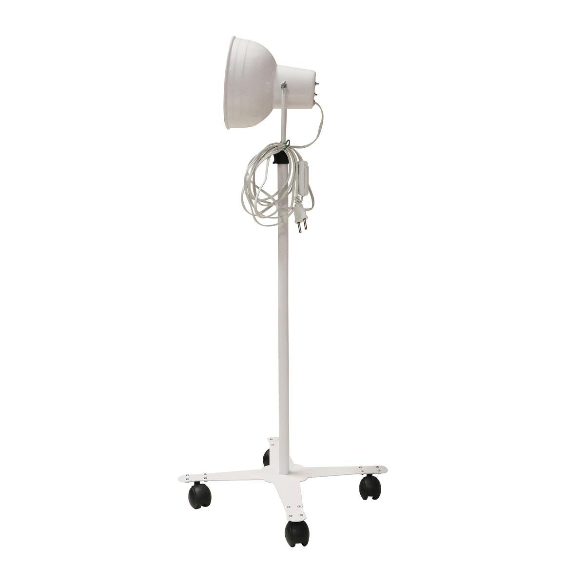 Suporte Para Infravermelho De Pedestal Sem Lâmpada Com Interruptor Para Fisioterapia - Shopfisio