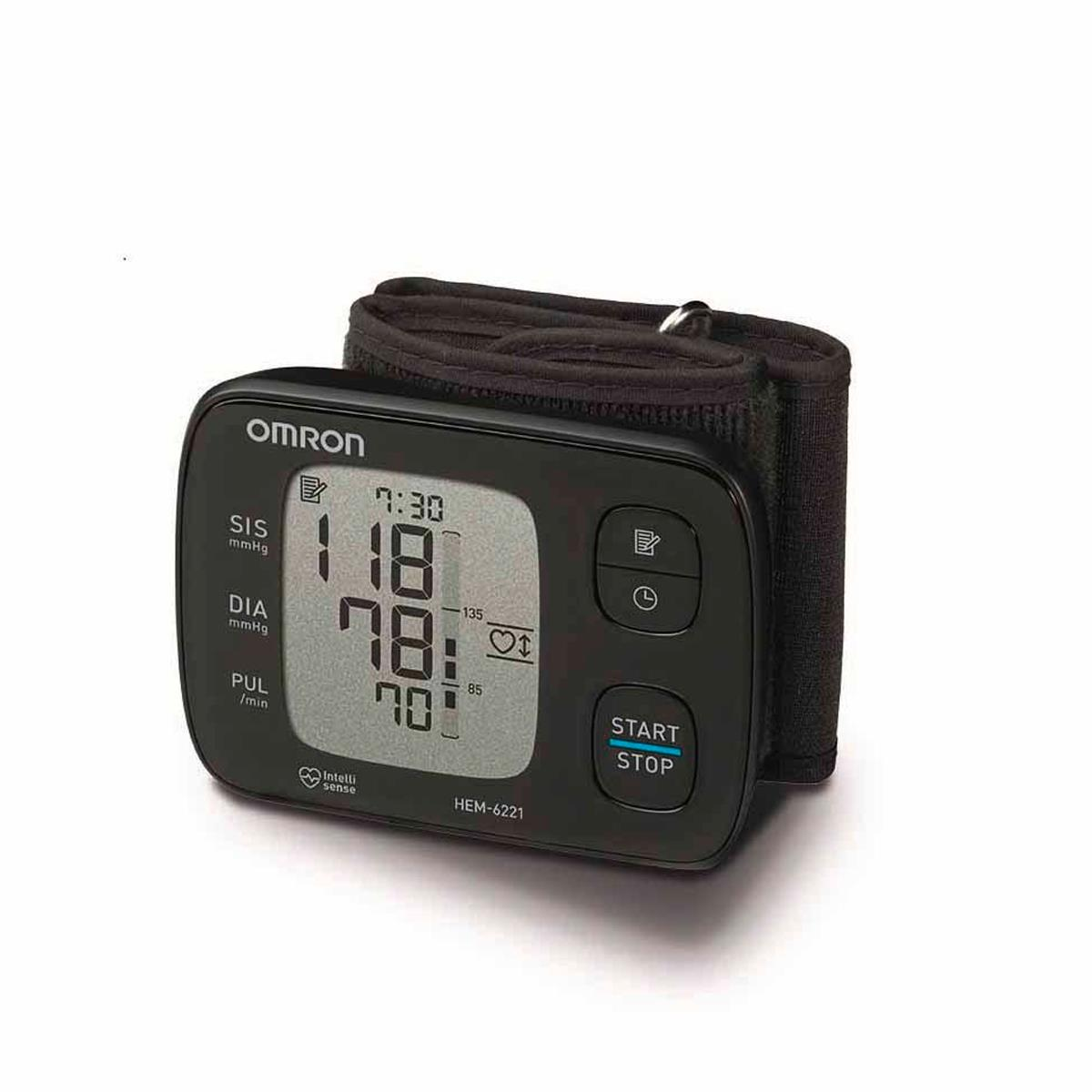 Monitor De Pressão Para Pulso Hem 6221 Elite - Omron