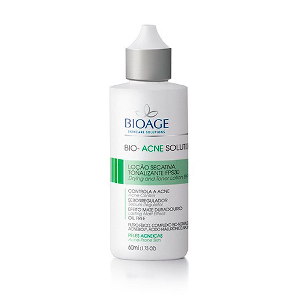 Serum Facial Clareador Para Peles Com Manchas De Acne Bioage - 60Ml