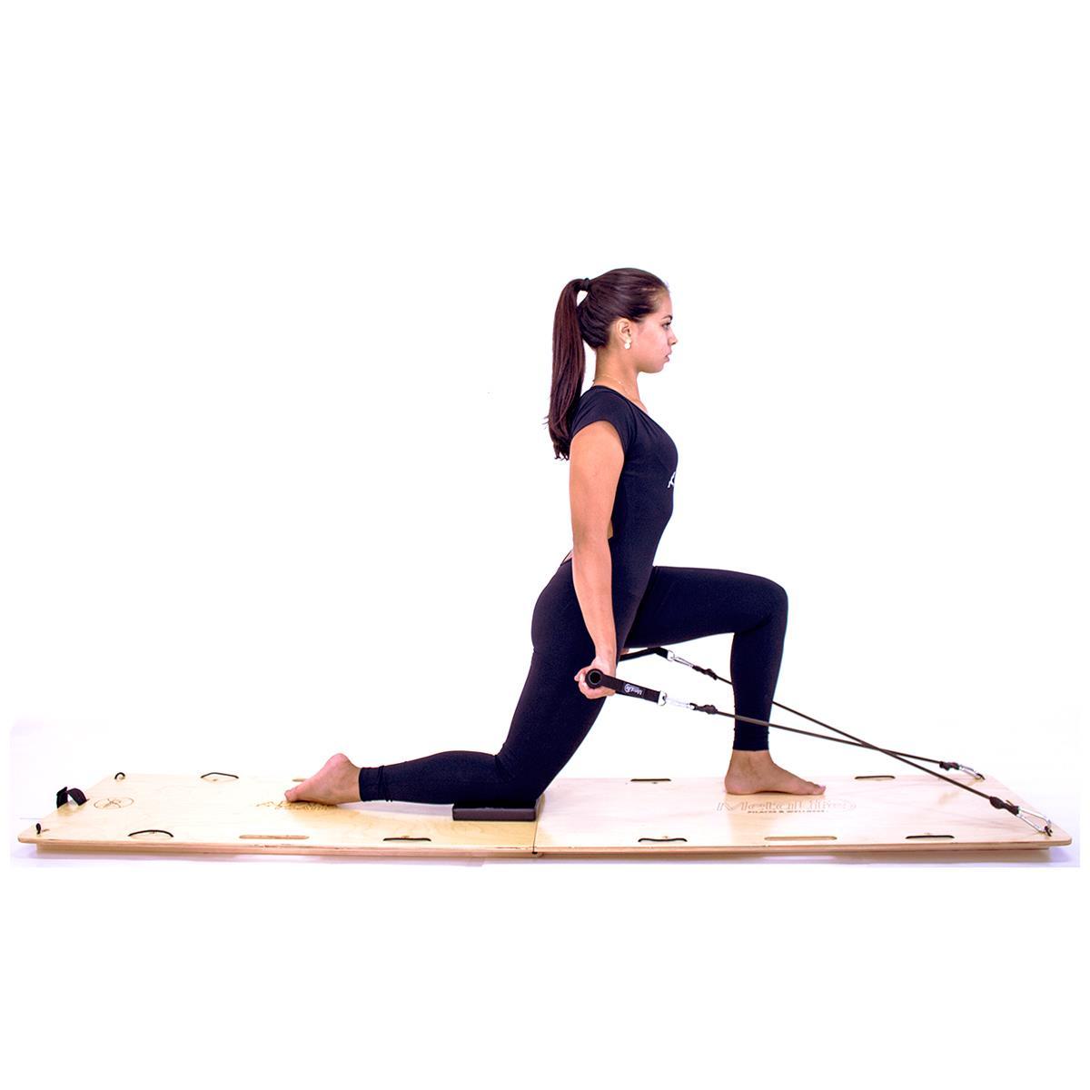 Aparelho De Pilates Portátil Plank - Metalife