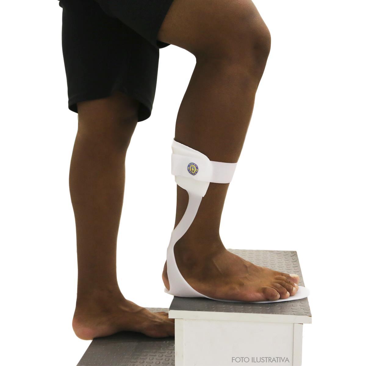 Calha Ortopédica Afo Flexível - Direito - Ortho Pauher