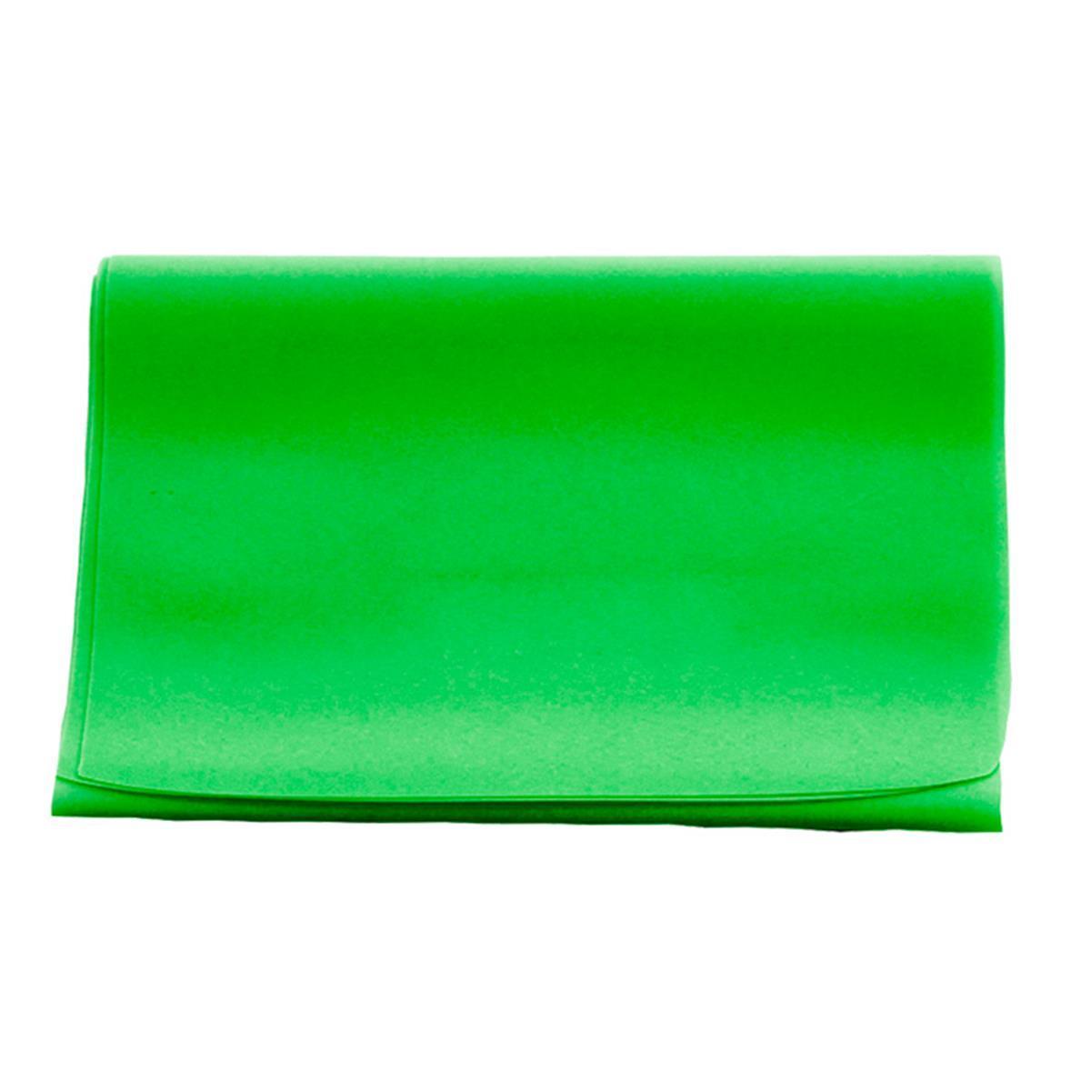 Faixa Elástica Carci Band - Verde Médio - 1,5M - Exercícios E Fisioterapia