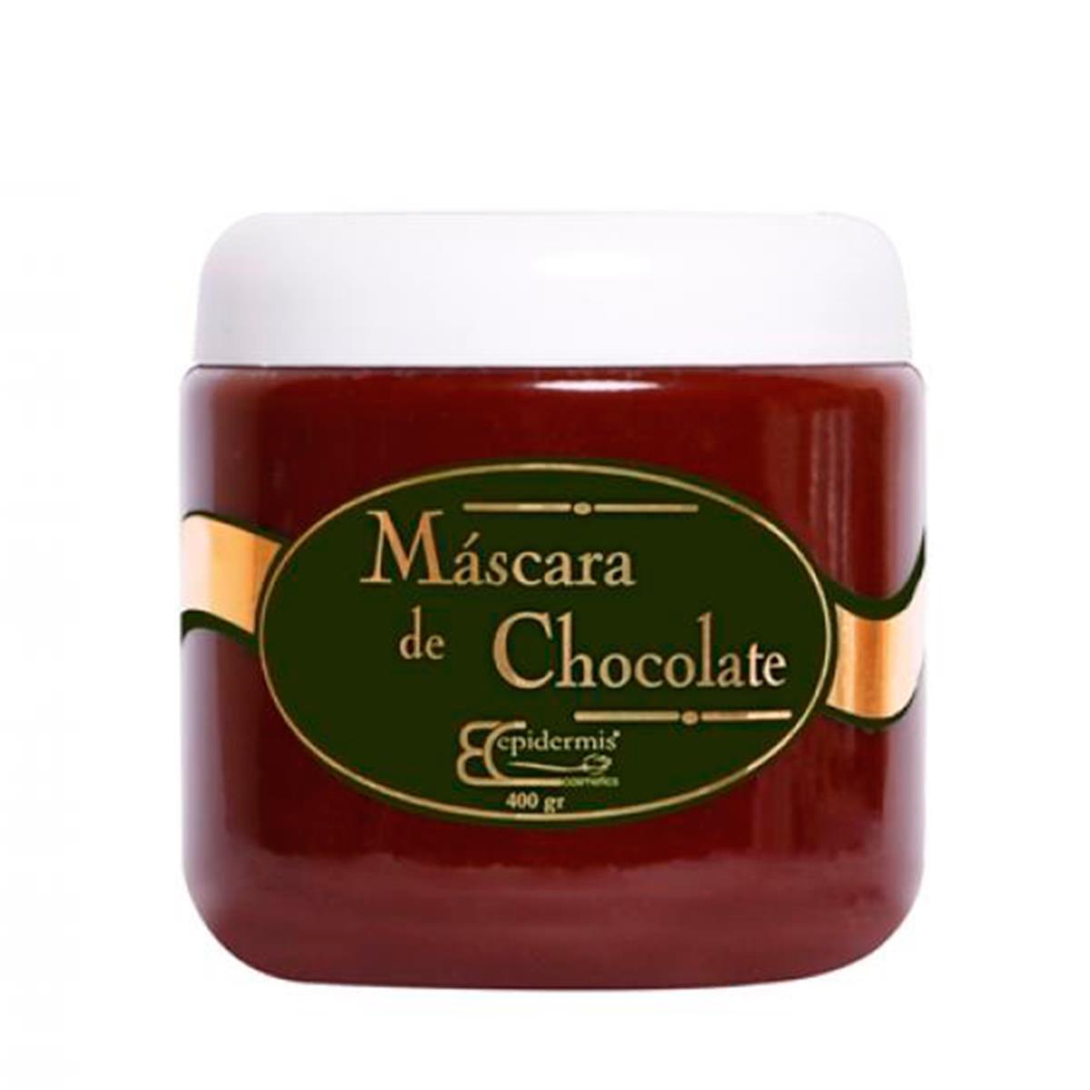 Máscara De Chocolate Epidermis - Linha Spa E Gourmeterapia 400G