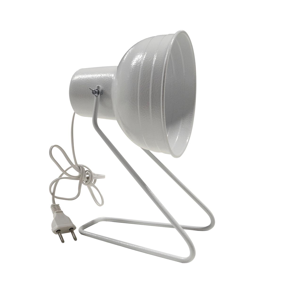 Suporte Para Infravermelho De Mesa Sem Lâmpada E Sem Interruptor Para Fisioterapia - Shopfisio