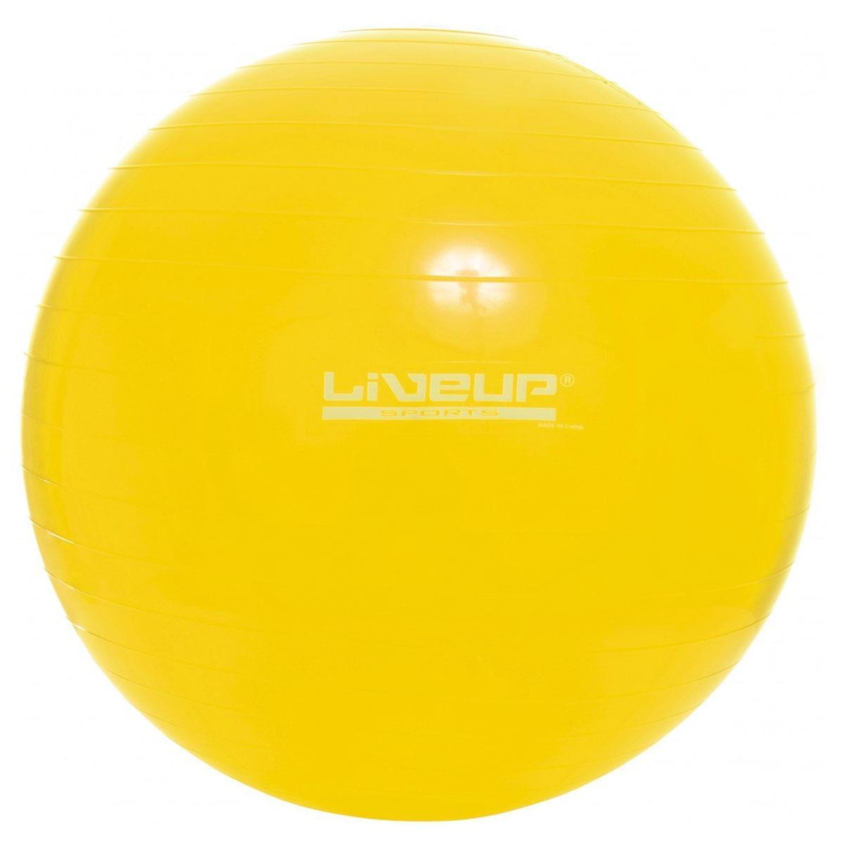 Bola Suíça 75Cm Liveup - Amarela