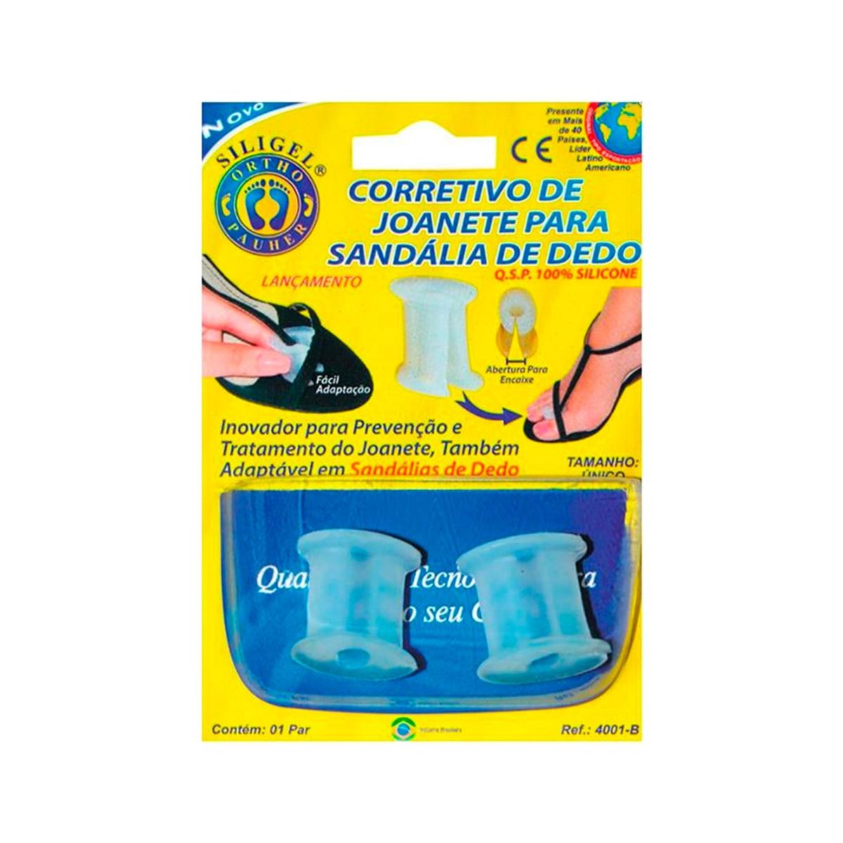 Corretivo Ortopédico De Joanete Para Sandália De Dedo - Ortho Pauher