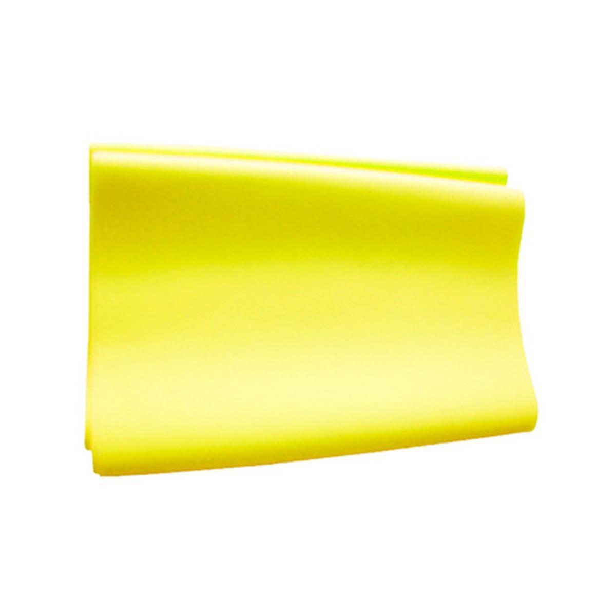 Faixa Elástica Thera Band - Amarelo Suave - 1M - Exercícios E Fisioterapia De Reabilitação