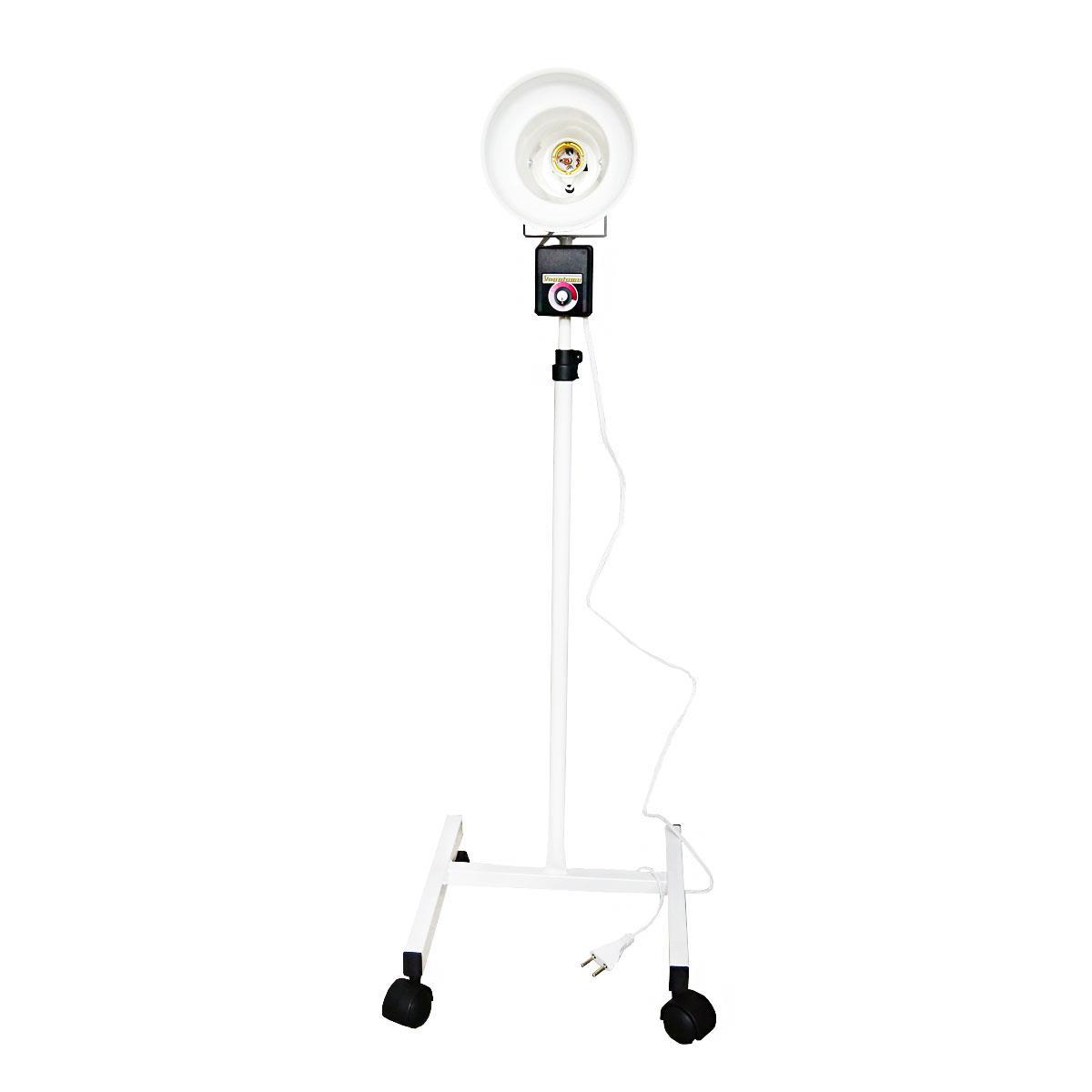 Infravermelho De Pedestal Com Dimmer Sem Lâmpada Para Fisioterapia - Bivolt - Shopfisio