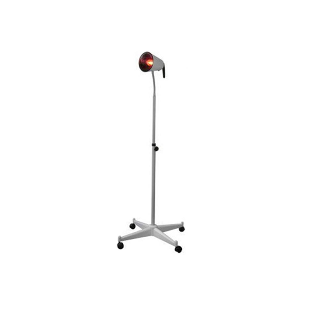 Infravermelho De Pedestal Sem Dimmer Com Lâmpada Para Fisioterapia, Termoterapia 220V - Carci