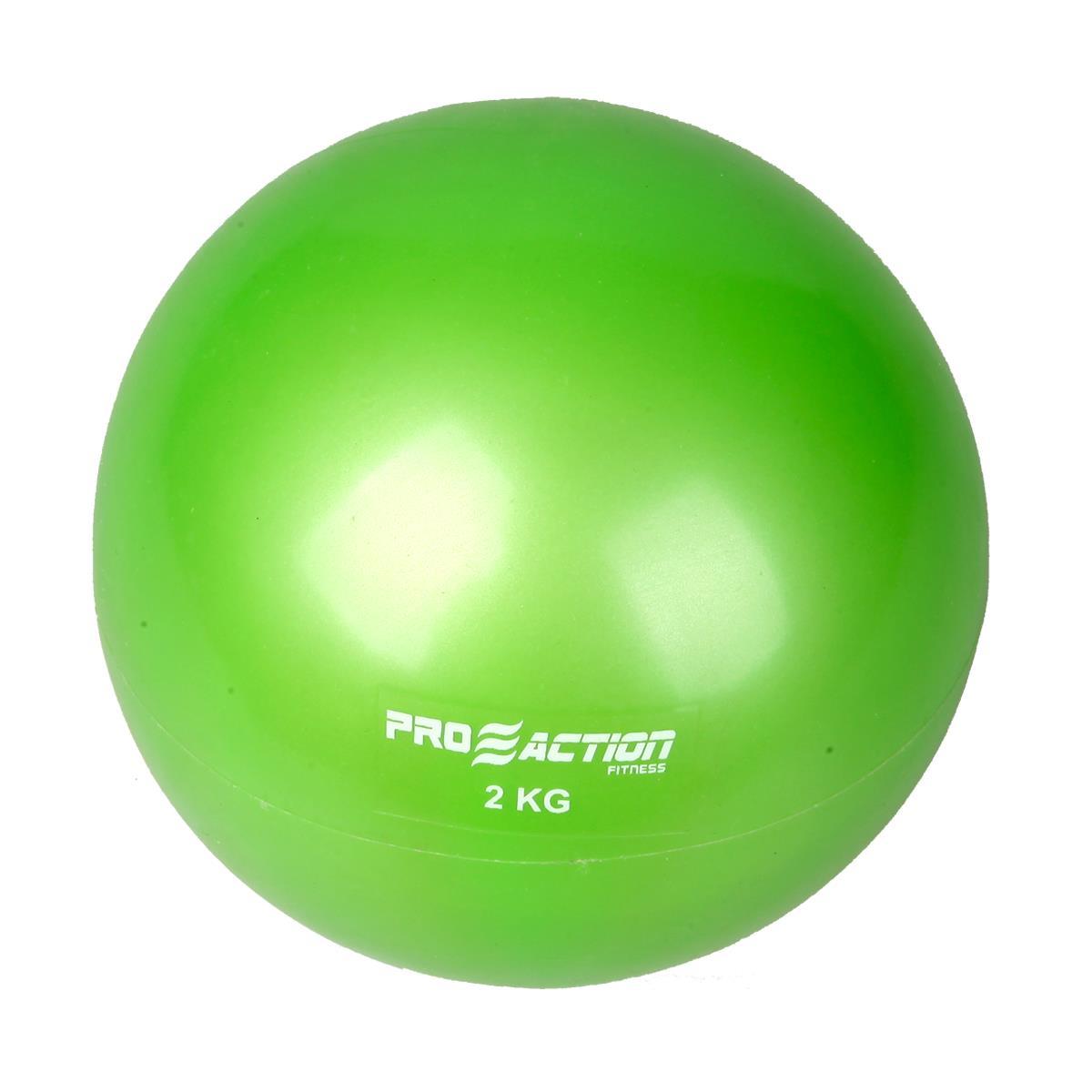 Bola Tonificadora Proaction Verde - 2Kg