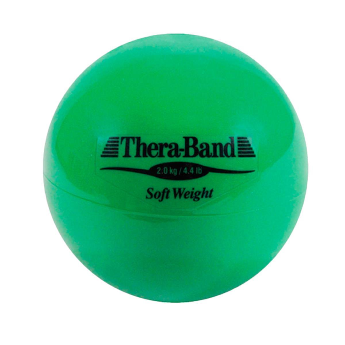 Bola De Peso Para Exercícios (Soft Weights) Verde 2 Kg – Thera Band