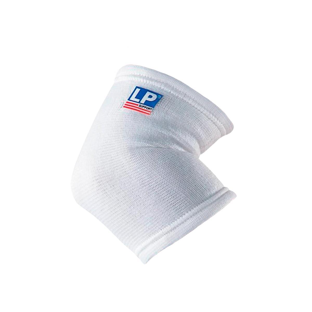 Cotoveleira Elástica Branco Par - Lp Support
