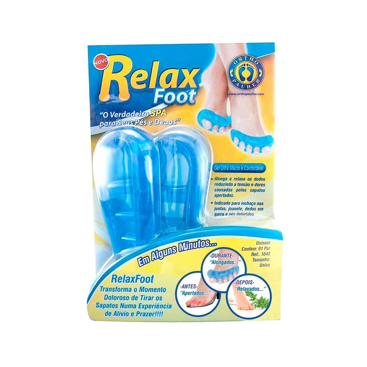 Relax Foot Ortopédico Para Relaxamento Dos Pés E Dedos - Ortho Pauher
