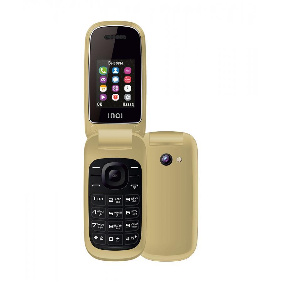 Мобильный телефон INOI 108R Flip Gold