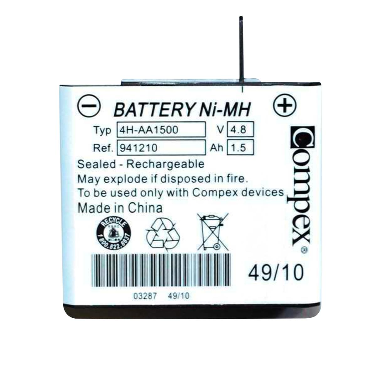 Bateria Com Fios Para Aparelho De Eletroestimulação Portátil - Compex