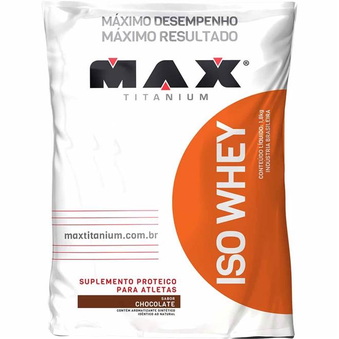 Iso Whey 1,8kg - Max Titanium
