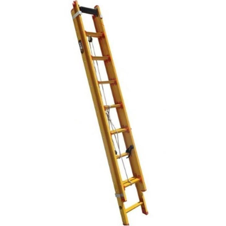 Escada Extensível de Fibra Botafogo EFP19, 19 degraus