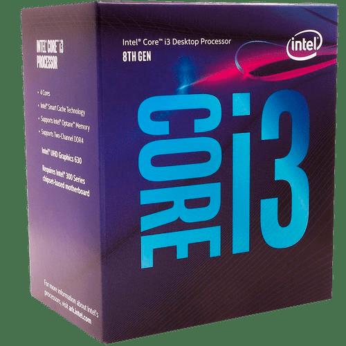 Processador Intel Core i3-8100 Coffee Lake LGA 1151 Cache 6MB 3.6GHZ UHD GRAPHICS 630 - BX80684I38100