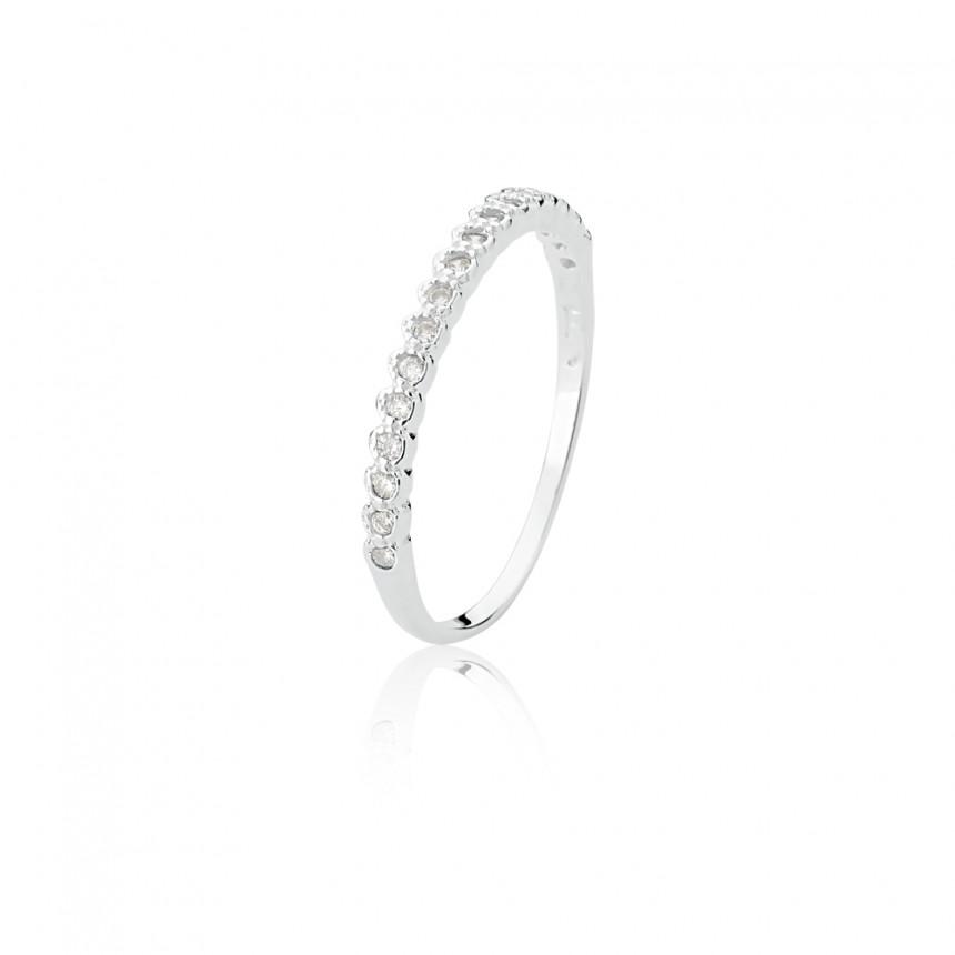 Moda feminina anel prata banhado ouro aparador trabalhado - Multiplace f98588961c