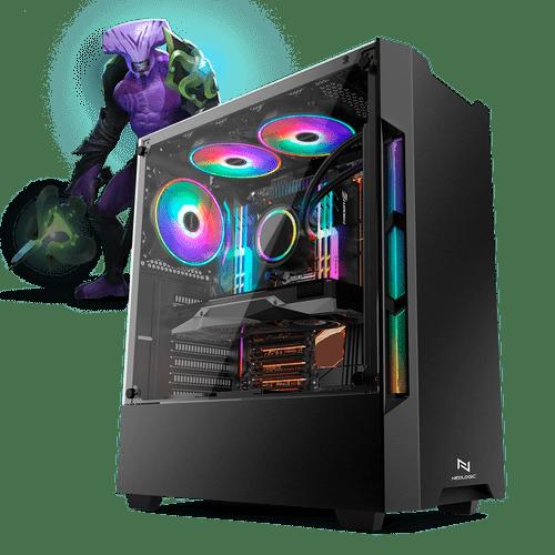 PC Gamer Neologic Moba Box NLI68043 Intel Core i5-7400  4GB (GeForce GTX 1050Ti 4GB) 500GB Windows 8