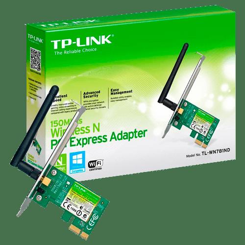 Adaptador Wireless PCI-E 150MBPS TP Link TL-WN781ND