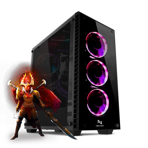 PC Gamer Neologic Moba Box NLI80989 Intel i3-7100 8GB (GeForce GTX 1050Ti) 1TB