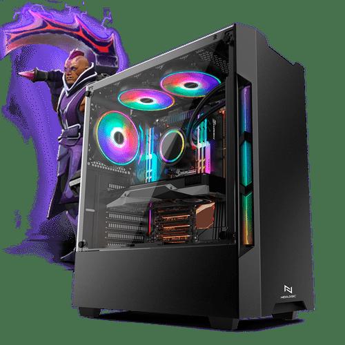 PC Gamer Neologic Moba Box NLI68174 Intel Core i5-7400  4GB (GeForce GTX 1050Ti 4GB) 1TB Windows 8