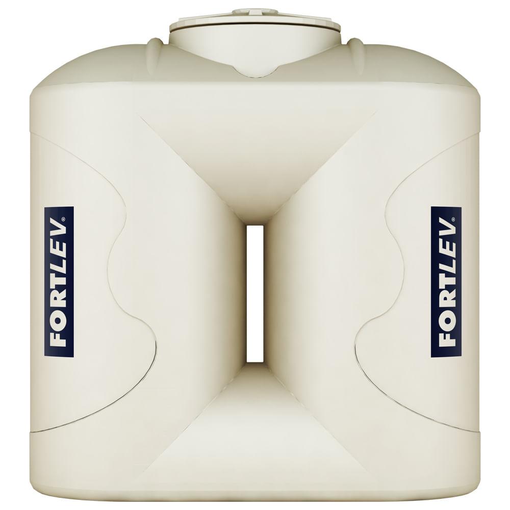 Cisterna Polietileno 600L Slim 130X120X60Cm C/Tampa Fortlev