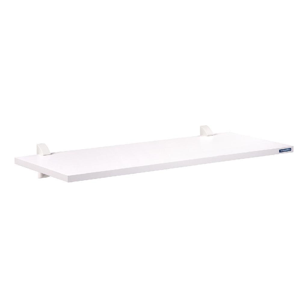 Prateleira Madeira Tramontina Modulare com Suporte Invisível Branco 60x25cm 91284/061