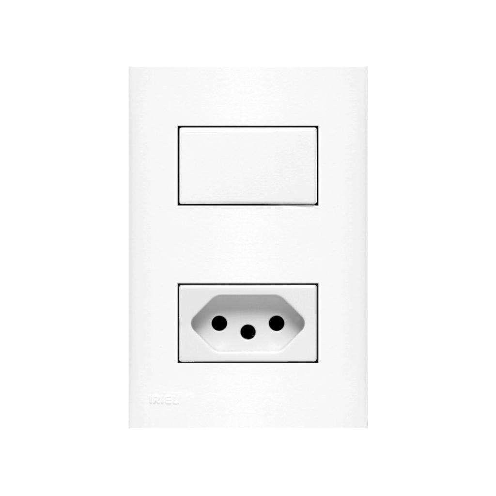 Interruptor Impéria Bco 1T S+Tom Pd.Br. 759901 Iriel