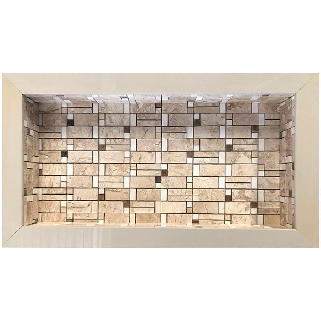 Nicho Porcelanato 30x60Cm Mosaico 600506 Anticatto