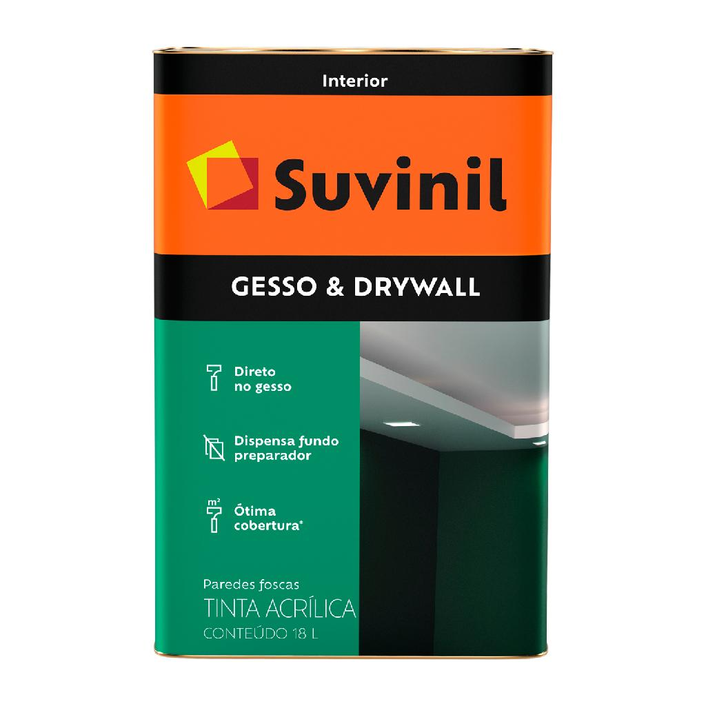 Tinta 18lts Gesso e Dywall Suvinil