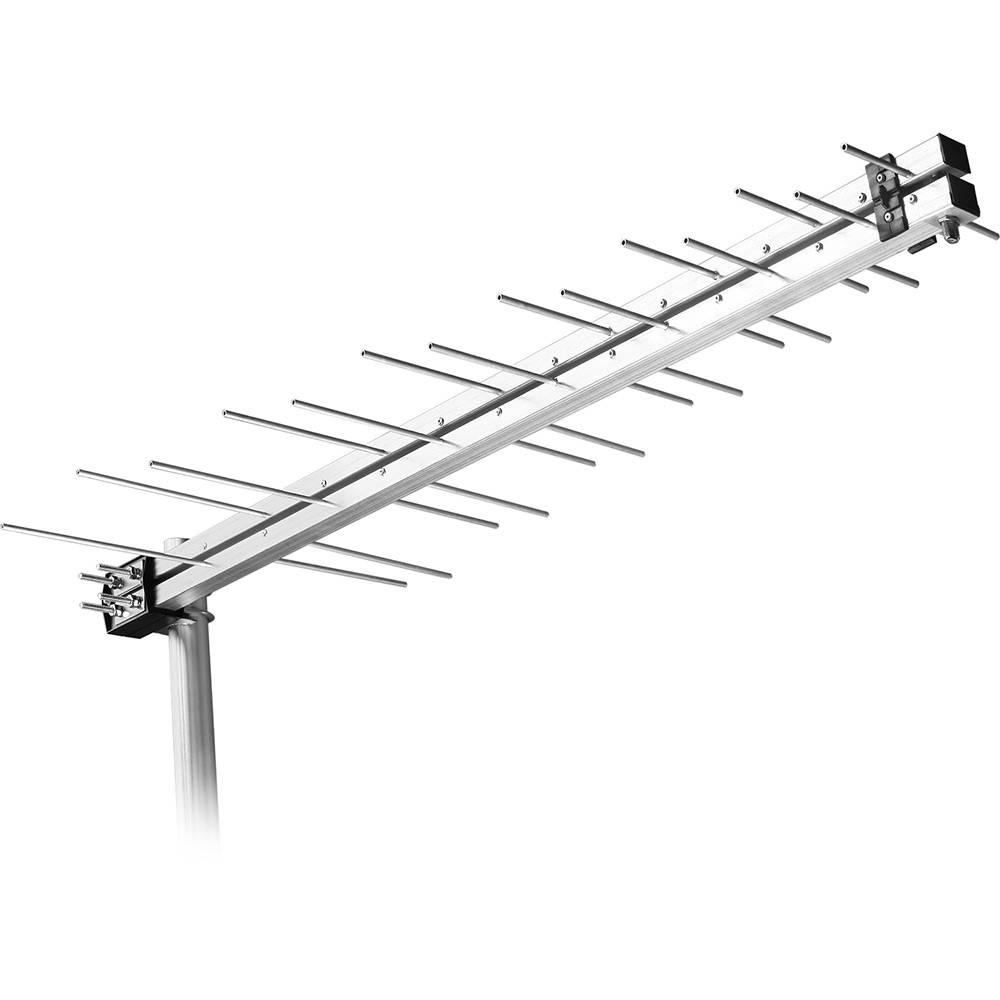 Antena Externa UHF/HDTV LOG para Digital 14 Elementos