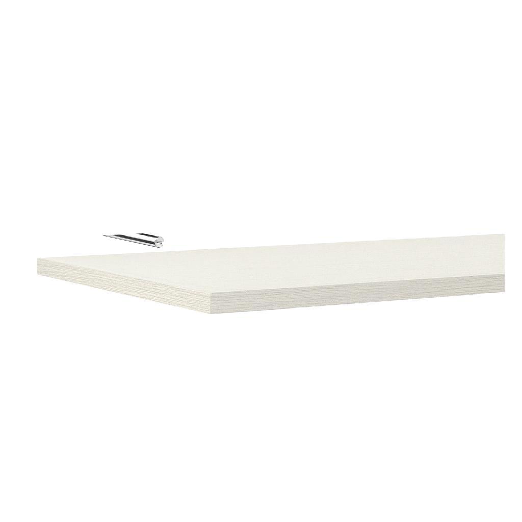 Prateleira Madeira Tramontina Modulare com Suporte Invisível Branco 60X25cm 91274/065