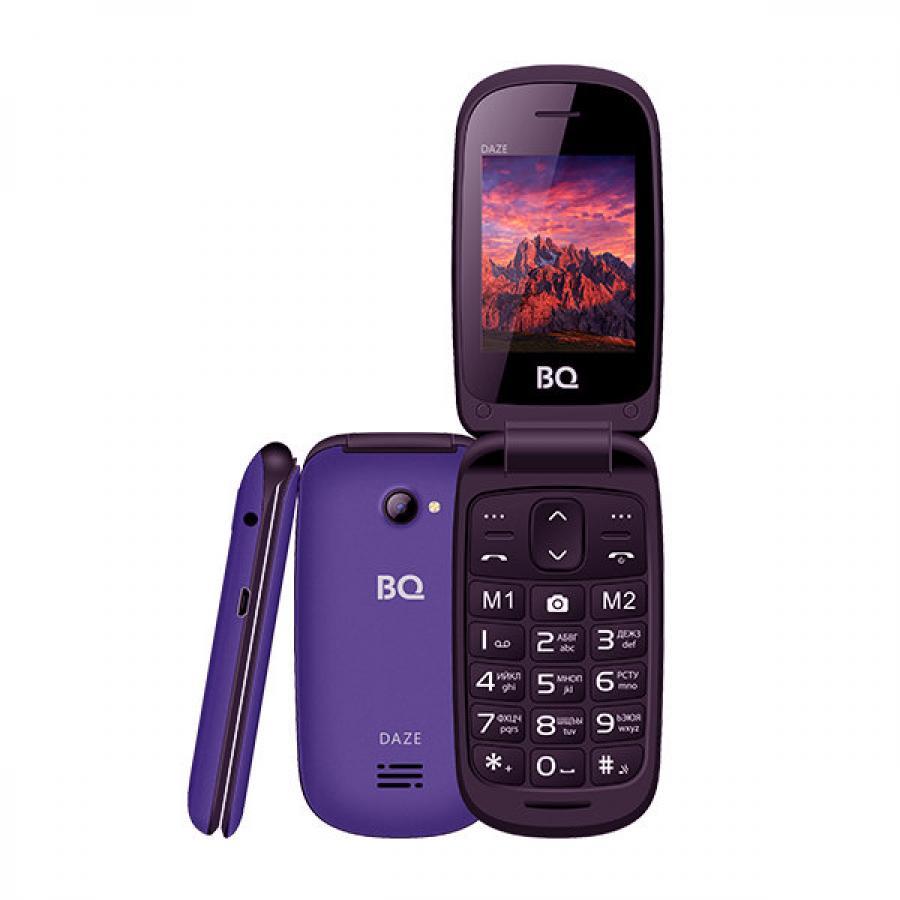 Мобильный телефон BQ-2437 Daze 2437 Daze Flip Purple