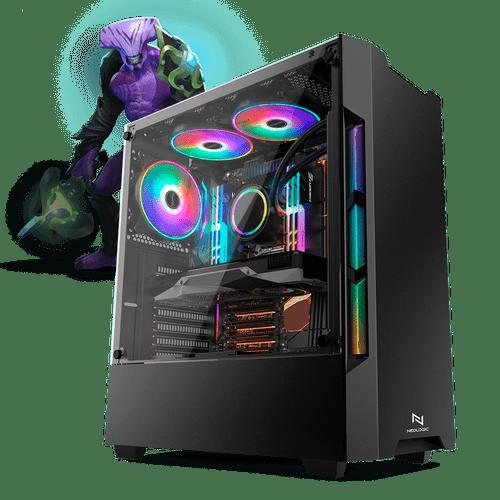 PC Gamer Neologic Moba Box NLI68188 Intel Core i3-7100  8GB (GeForce GTX 1050Ti 4GB) 500GB Windows 10