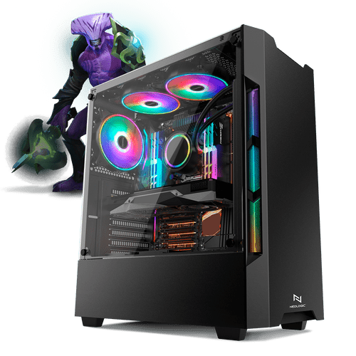 PC Gamer Neologic Moba Box NLI68187 Intel Core i3-7100  8GB (GeForce GTX 1050Ti 4GB) 500GB Windows 8