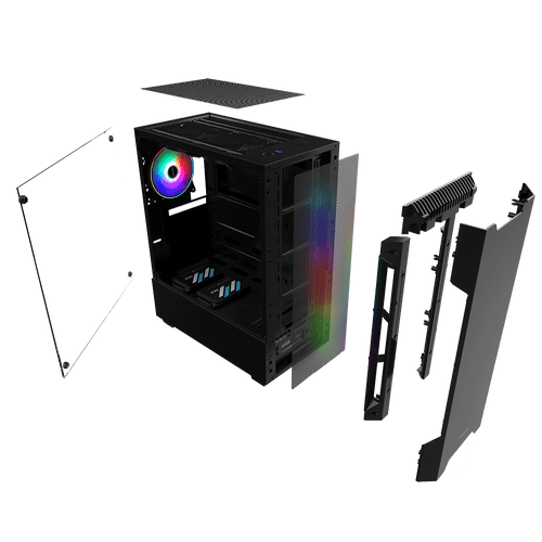 PC Gamer Neologic Moba Box NLI68170 Intel Core i5-7400  8GB (GeForce GTX 1050Ti 4GB) 500GB Windows 8