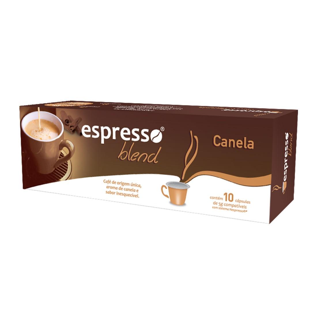 Cápsulas de Café Espresso Blend Canela - Compatíveis com Nespresso® - 10 un.